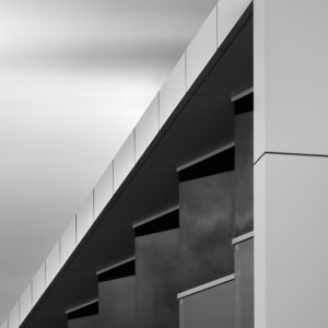 Black & white abstract