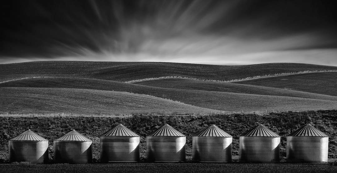NZIPP 2017 Award image, Silos in Twizel, NZ
