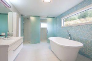 Residential bathroom, Glenorchy, NZ